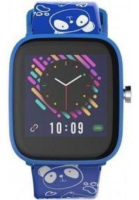 Vivax smartwatch LifeFit HERO kids, niebieski. Rodzaj zegarka: smartwatch. Kolor: niebieski. Styl: sportowy