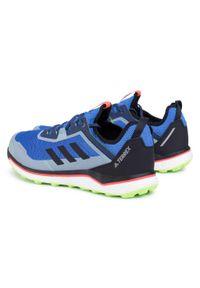 Niebieskie buty do biegania Adidas z cholewką, Adidas Terrex