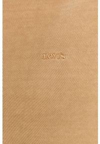 Levi's® - Levi's - Bluza bawełniana. Okazja: na spotkanie biznesowe. Kolor: beżowy. Materiał: bawełna. Styl: biznesowy