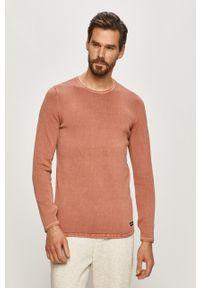 Only & Sons - Sweter. Okazja: na co dzień. Kolor: brązowy. Materiał: dzianina. Styl: casual