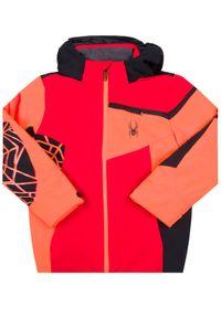 Kurtka sportowa Spyder narciarska, w kolorowe wzory