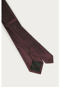 Brązowy krawat Calvin Klein