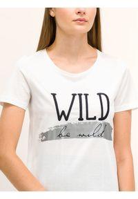 Biały t-shirt Pennyblack