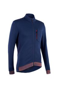 TRIBAN - Bluza rowerowa Triban RC900 merynos. Materiał: materiał, akryl, wełna, elastan, poliester