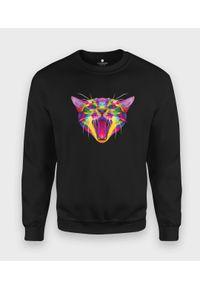 Bluza MegaKoszulki w kolorowe wzory, klasyczna