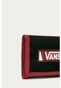 Vans - Portfel. Kolor: czarny. Materiał: materiał, poliester #2