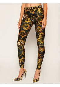 Legginsy Versace Jeans Couture w kolorowe wzory