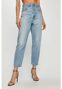 Niebieskie jeansy loose fit Levi's® na spotkanie biznesowe, gładkie