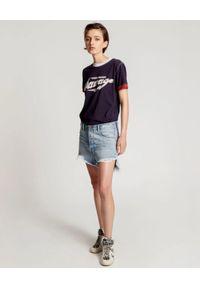 ONETEASPOON - Jeansowe szorty Salty Dog Outlaws. Stan: podwyższony. Kolor: niebieski. Materiał: jeans