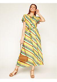 Marella Sukienka letnia Cicaldi 32213502 Kolorowy Regular Fit. Wzór: kolorowy. Sezon: lato