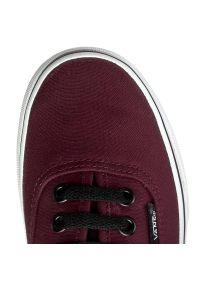 Czerwone buty sportowe Vans z cholewką, Vans Authentic