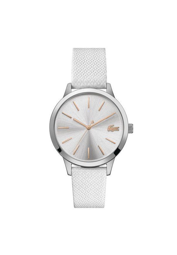 Lacoste Zegarek L1212 2001089 Biały. Kolor: biały