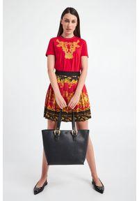 Torebka Versace Jeans Couture skórzana