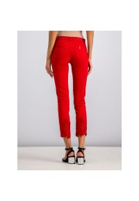 Czerwone jeansy slim Liu Jo