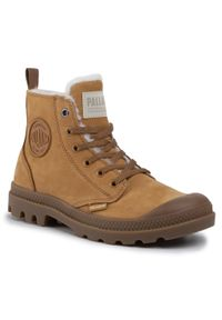 Brązowe buty trekkingowe Palladium