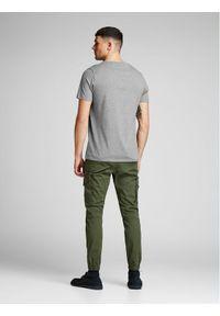 Jack & Jones - Jack&Jones T-Shirt Corp Logo 12137126 Szary Slim Fit. Kolor: szary