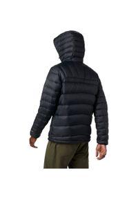 Czarna kurtka turystyczna columbia na zimę #2