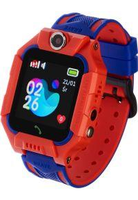 Czerwony zegarek Garett Electronics smartwatch