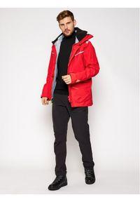 Czerwona kurtka turystyczna #7
