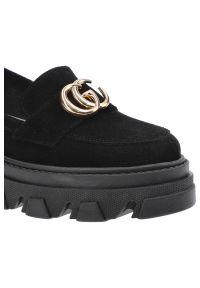 Dwunasty Shoes - Półbuty DWUNASTY SHOES 921 Czarny W.. Kolor: czarny