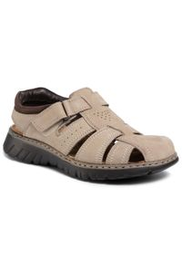 Beżowe sandały Lasocki For Men