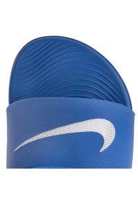 Niebieskie klapki Nike