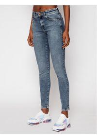 Wrangler Jeansy Skinny Fit Body Bespoke W28KVH78X Niebieski Skinny Fit. Kolor: niebieski. Materiał: jeans