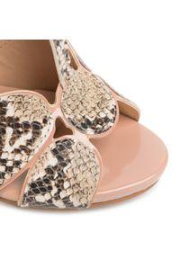 Brązowe sandały Loretta Vitale casualowe, na co dzień