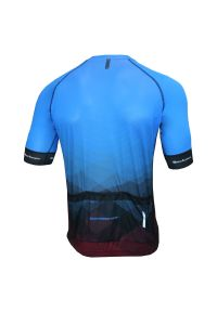 Koszulka męska rowerowa Berkner Pablo. Materiał: materiał