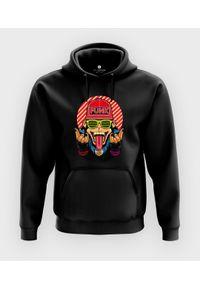 MegaKoszulki - Bluza z kapturem Małpa funky. Typ kołnierza: kaptur