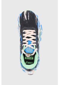 Asics - Buty Noosa Tri 13. Nosek buta: okrągły. Zapięcie: sznurówki. Kolor: czarny