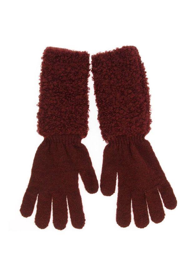 Czerwone rękawiczki Marella