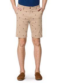 Beżowe szorty Lancerto krótkie, na lato
