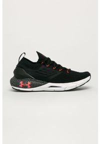 Czarne buty sportowe Under Armour z cholewką, do biegania