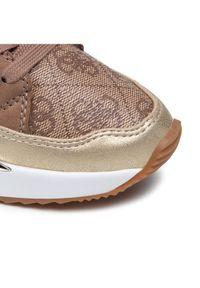 Guess Sneakersy FL7TRS FAL12 Brązowy. Kolor: brązowy