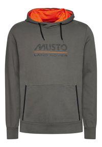 Musto Bluza Logo 84006 Szary Regular Fit. Kolor: szary #3