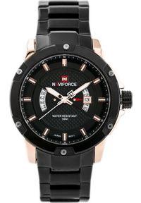 Czarny zegarek Naviforce
