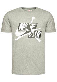 Nike T-Shirt Jordan Jumpman Classics Hbr CU9570 Szary Standard Fit. Kolor: szary