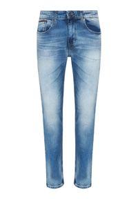 Tommy Jeans Jeansy Austin DM0DM09555 Niebieski Slim Fit. Kolor: niebieski