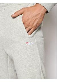 Fila Spodnie dresowe Edan Sweat 688166 Szary Regular Fit. Kolor: szary. Materiał: dresówka
