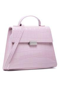 Różowa torebka klasyczna Monnari skórzana