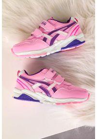 Casu - różowe buty sportowe na rzepy casu 20b2/p. Zapięcie: rzepy. Kolor: różowy