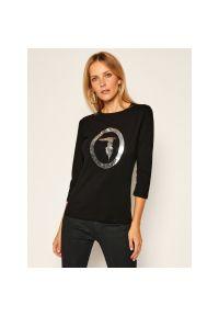 Czarna bluzka Trussardi Jeans #4