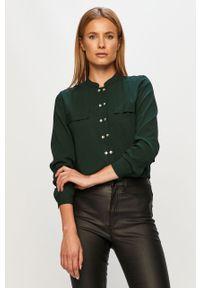 Zielona koszula Jacqueline de Yong casualowa, długa, na co dzień