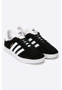 adidas Originals - Buty Gazelle. Nosek buta: okrągły. Kolor: czarny. Szerokość cholewki: normalna. Model: Adidas Gazelle
