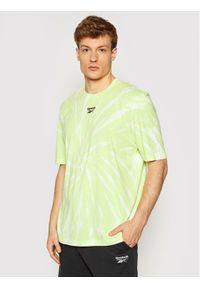 Reebok Classic - Reebok T-Shirt Unisex Classics Tie-Dye GL1657 Żółty Loose Fit. Kolor: żółty