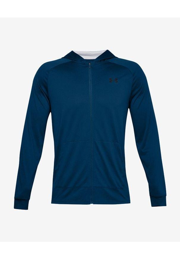 Niebieska bluza Under Armour w kolorowe wzory, długa