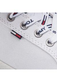 Białe półbuty Tommy Jeans na co dzień, na płaskiej podeszwie #7