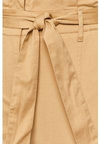 Spodnie materiałowe TALLY WEIJL z podwyższonym stanem
