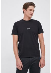 Bomboogie - T-shirt bawełniany. Kolor: czarny. Materiał: bawełna. Wzór: gładki